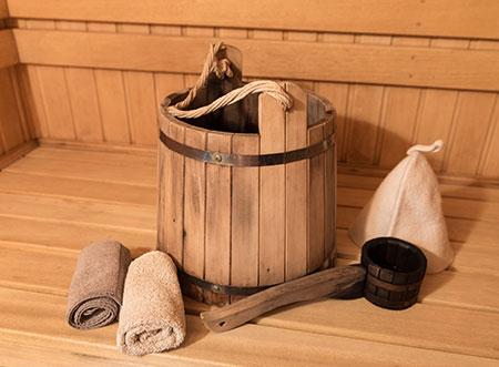 Doplnky do sauny