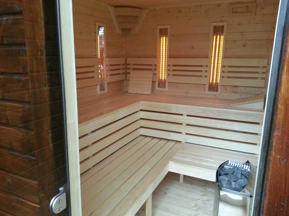 Pohlad do kombinovanej sauny
