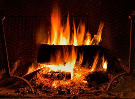 Sauna na tuhe palivo pohlad dnu
